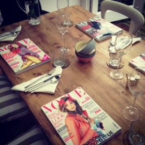 Vogue Table Setting High
